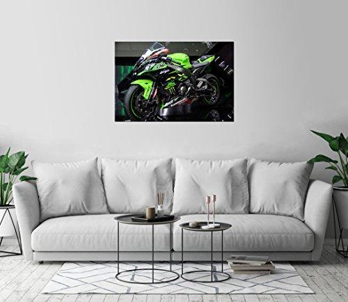2018 Kawasaki Ninja Motorcycle Bike Display Art Print Wall D