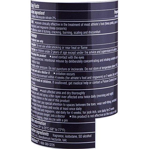 Lotrimin AF Athlete's Foot Deodorant Antifungal Powder Spray
