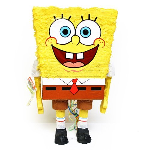 Unique Industries Pull Pinata-Spongebob Squarepants 3D 23X14 -