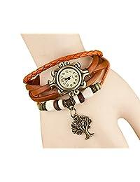 Dress watch sale women top brand Bohemian Casual Plaited Band ladies bracelets bangles