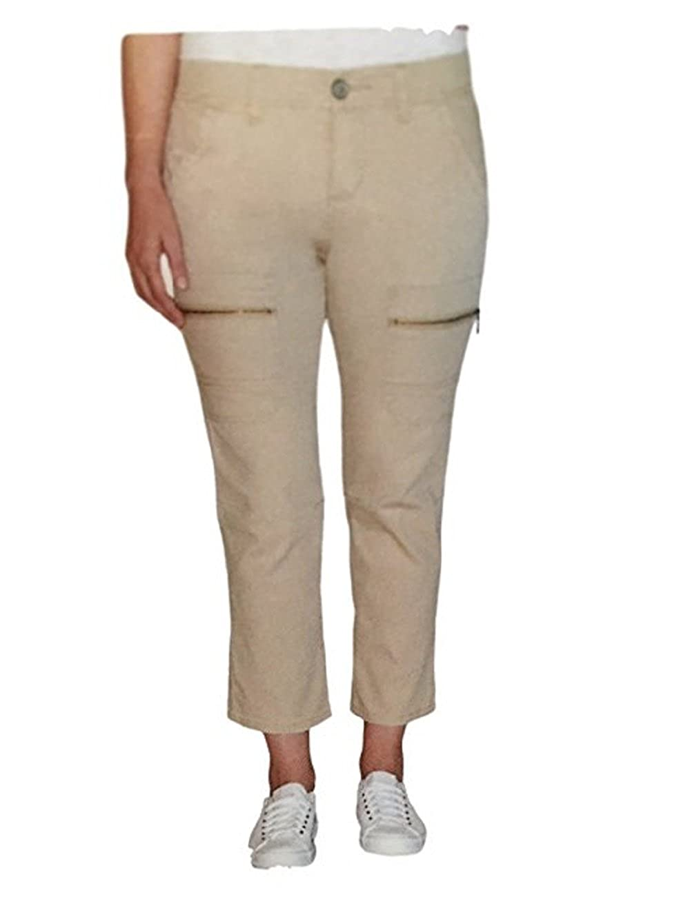 Supplies By Unionbay Womens Capri Cropped Pants (Walnut, 10)