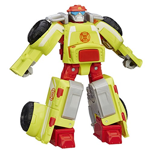 Playskool Heroes Transformers Rescue Bots Heatwave the Fire-Bot Action Figure, Ages 3-7 (Amazon Exclusive)]()