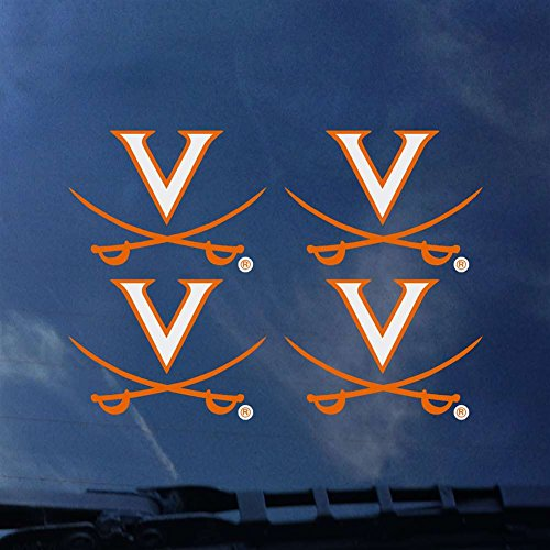 CDI Virginia Cavaliers Transfer Decals - Set of 4 ()