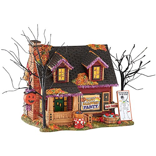 Department 56 Halloween Village Party Lit House