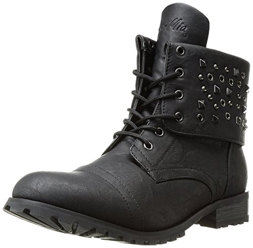 Gia Mia Dancewear Women's Convertible Combat Boot Fashion