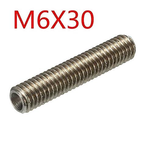 M6x30 Extrusora de accesorios 1.75mm rosca garganta de la tobera ...