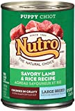 Cheap Nutro 50411587 Savory Lamb & Rice Recipe Chunks in Gravy Can Large Breed Puppy Food, 12 EA/12.5oz
