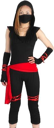 CoolChange Disfraz Ninja para Mujeres, L: Amazon.es: Juguetes y ...