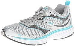 RYKA Women's Illusion 2 Running Shoe,Chrome Silver/Steel Grey/Winter Blue,6 M US