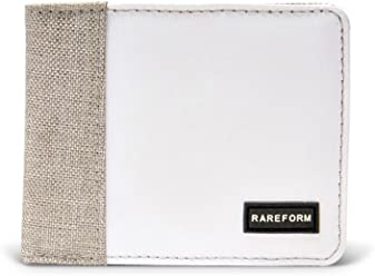 Rareform Men's Recycled Bifold Wallet, Minimalist Slim Billfold for Men