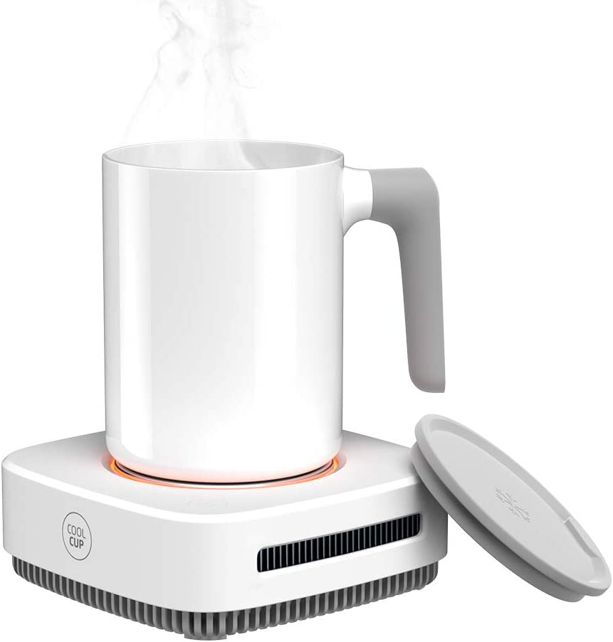 Coffee Mug Warmer, Drink Cooler, Beverage Warmer with Mug, Desk Cup Warmer with Automatic shut off for Tea Water Cocoa Milk Office Desk Home Best