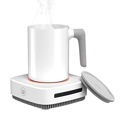Desk Cup Warmer with Automatic shut off for Tea Water Cocoa Milk Office Desk Home Best Gift Coffee Mug Warmer Up To 131F//55C Drink Cooler Waterproof and Easy to Clean Mug Beverage Warmer with Mug
