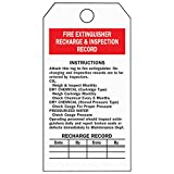 Fire Extinguisher Inspection Tags (25 Pack)