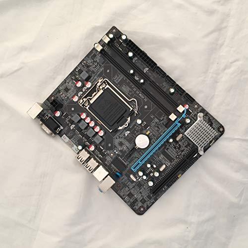 Studyset P55 Motherboard CPU LGA 1156 Pin 2Xddr3 1Xrj45H55 Desktop Motherboard with USB Port