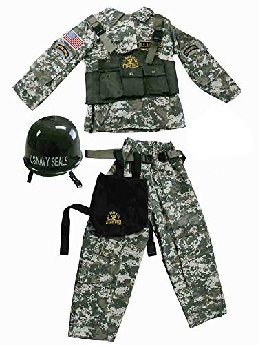 Special Forces Costumes (Dress Up America Special Forces Navy Seal Costume [544])