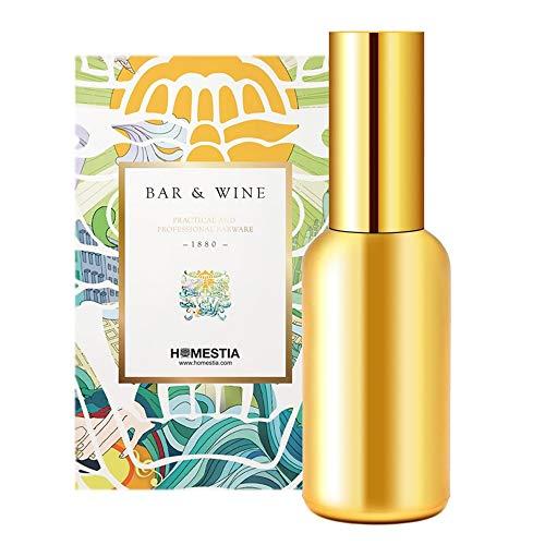 Casavidas Martini Vermouth Sprayer Glass Cocktail Atomizer Gold Plated 100ml 50ml Portable Spary Bottle: 50 ml