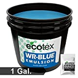 Ecotex WR-BLUE Water Resistant Textile Diazo Screen Printing Emulsion (Gallon)