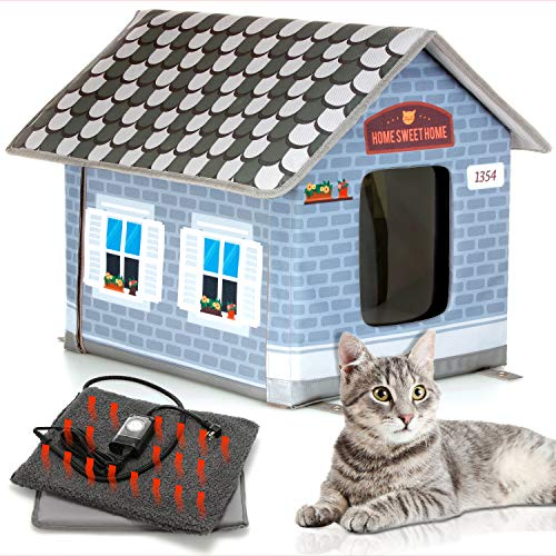 PETYELLA Heated cat Houses