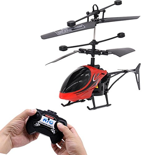 Youcoco 2-Way Mini-Fall Rechargeable Remote Control Helicopter Aircraft Aviation Model Toys Airplane & Jet Kits