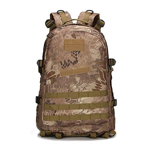 Oxford wasserdichte Taschen Armee Klettern Mini-Portable Angriff Taktik rucksack outdoor Tour von Camouflage 3D Rucksack, Desert