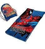 Marvel Spider-man Spider Sense Slumber Sack and Sling Bag Set - Kids