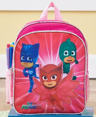 [Girls PJMasks Backpack Padded 10in] (Homemade Cow Costumes Halloween)