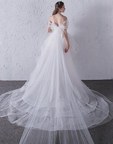 Vimans -  Vestito  - linea ad a - Donna Ivory 46