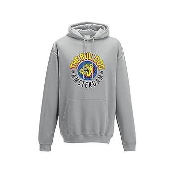suche nach dem besten modernes Design Super Qualität The Bulldog Sweatshirt Kapuze Pullover Damen Baumwolle ...