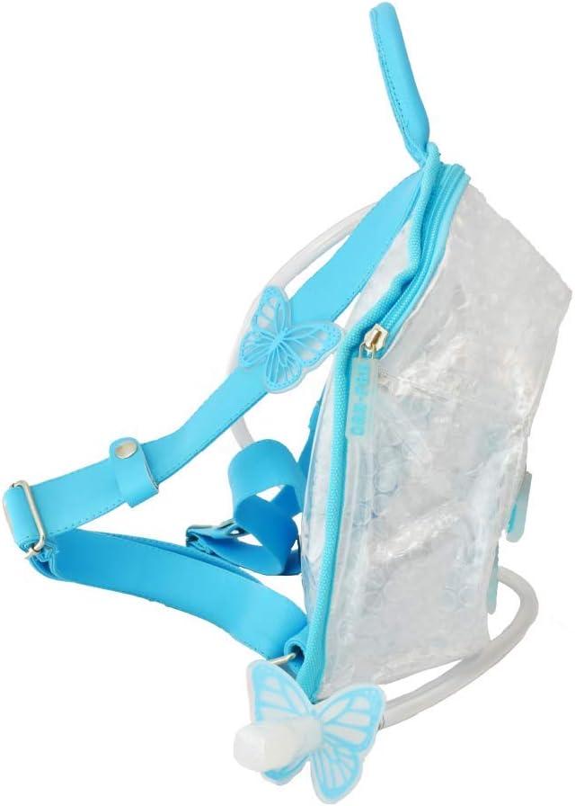 Dan-Pak Mini Hydration Pack- Bubble Wrap- Clear/Light Blue