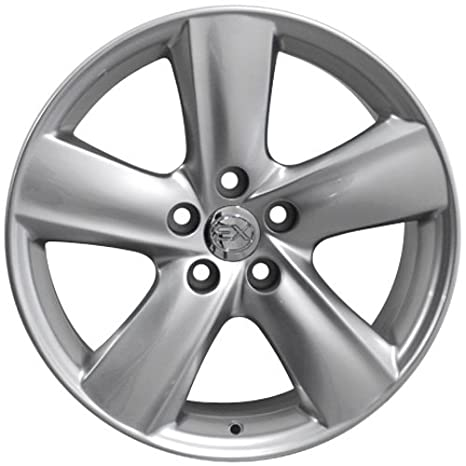 Amazon Com Oe Wheels 18 Inch Fits Lexus Es Gs Hs Is Ls Rx Sc Toyota