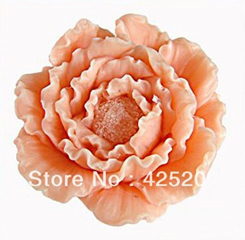 3d Flower Peony Silicone Soap Mold,molds Silicone Forms for Soap, Silica Gel Mould,silicon Moulds 2 pcs/lot