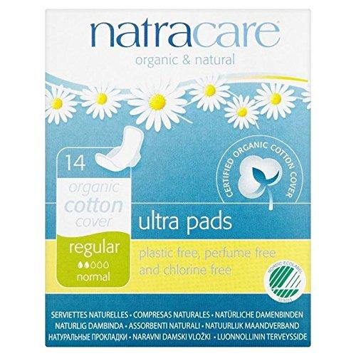 Natracare Organic Natural Pads Ultra Regular 14 per pack (PACK OF 2)