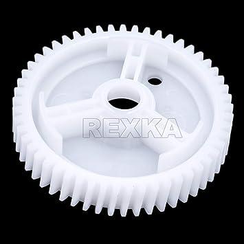 HERCOO Power Window Motors Gear Lift Regulator Repair Kit Replacement Compatible with Mazda 3 5 6 CX-7 CX-9 RX8