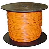 1000 FT (1000FT) Bulk Fiber Optic Cable Zip Cord (2 Strands) Multimode 62.5/125 Duplex (ON Spool) 3.0mm