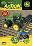 The Best of John Deere ACTION Parts 1-4 DVD all Live Action 60 minutes