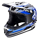 Kali Protectives Zoka Full-Face Helmet Blue/Black, XL
