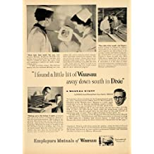 1956 Ad Employers Mutuals Insurance Wausau Story Roos - Original Print Ad