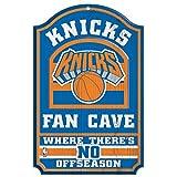 WinCraft NBA New York Knicks 38374012 Wood Sign, 11'' x 17'', Black