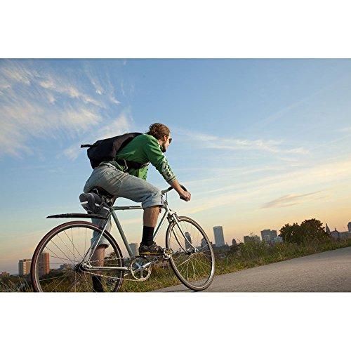 Kapoo Fahrrad Satteltasche Befestigungsriemen Aero Wedge Pack Satteltasche Kompakte Fahrradtasche