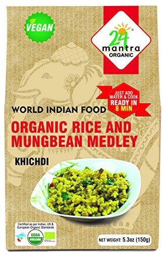 Organic Rice And Mungbean Medley (Kichdi)