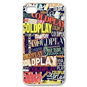 IPhone 4/4s Case Coldplay Magazine Headlines, IPhone 4/4s Case Coldplay, [White]