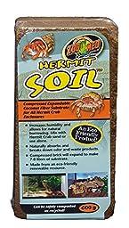 650G, Soil Coconut Fiber Brick for Hermit