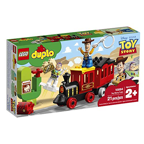 51E3regwz L - LEGO DUPLO Disney Pixar Toy Story Train 10894 Building Blocks (21 Piece), New 2019