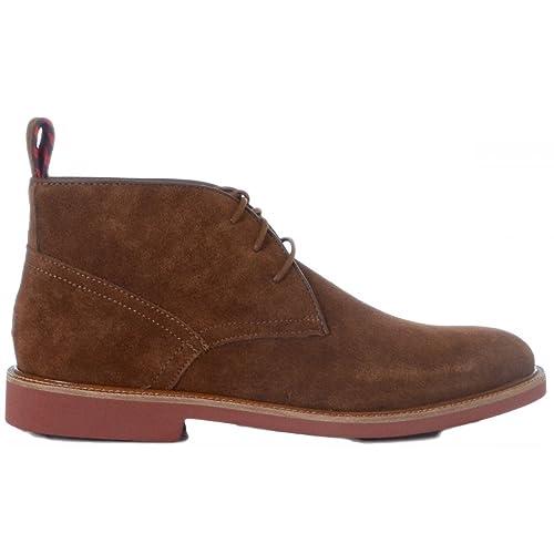 Polo Ralph Lauren - Botas - Hombre - Torrington Botas de Ante marrón, Color, Talla 41 EU: Amazon.es: Zapatos y complementos