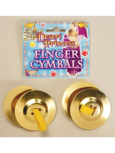 (Forum Novelties Finger Cymbals - Two Pair)
