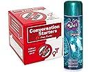 Bundle Package Of I've Never Conversation Starters-Girls And Wet Original Gel (3.5oz)