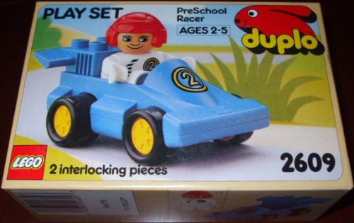 LEGO Duplo 2609 PreSchool Racer Play Set