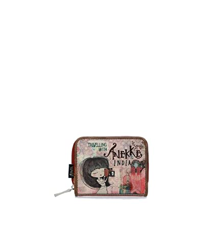 Mini Monedero Estampado Anekke India: Amazon.es: Equipaje