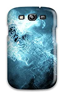 Hxy QJsrhQX2265YqKlq Case For Galaxy S3 With Nice Blue Abstract Appearance