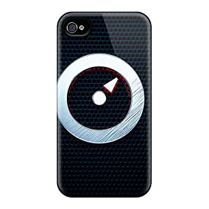 New Tpu Hard Case Premium Iphone 4/4s Skin Case Cover(power On Or Off)